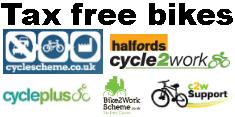 Tax Free Bike schemes