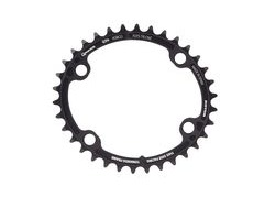 ROTOR Q-Ring Spider Mount Oval Inner Chainring for ALDHU and Shimano 4 Bolt