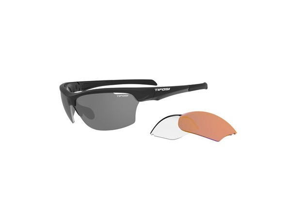 TIFOSI OPTICS Intense Interchangeable Lens Sports Glasses click to zoom image
