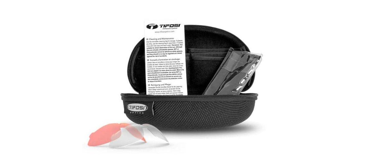 2b93ebe8c3 TIFOSI OPTICS Davos Interchangeable Lens Sports Glasses    £64.99 ...