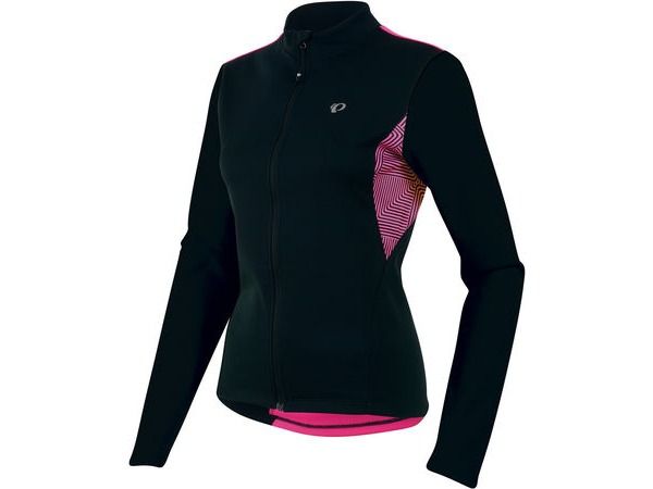 PEARL IZUMI Women's Sugar Thermal Long Sleeve Jersey click to zoom image