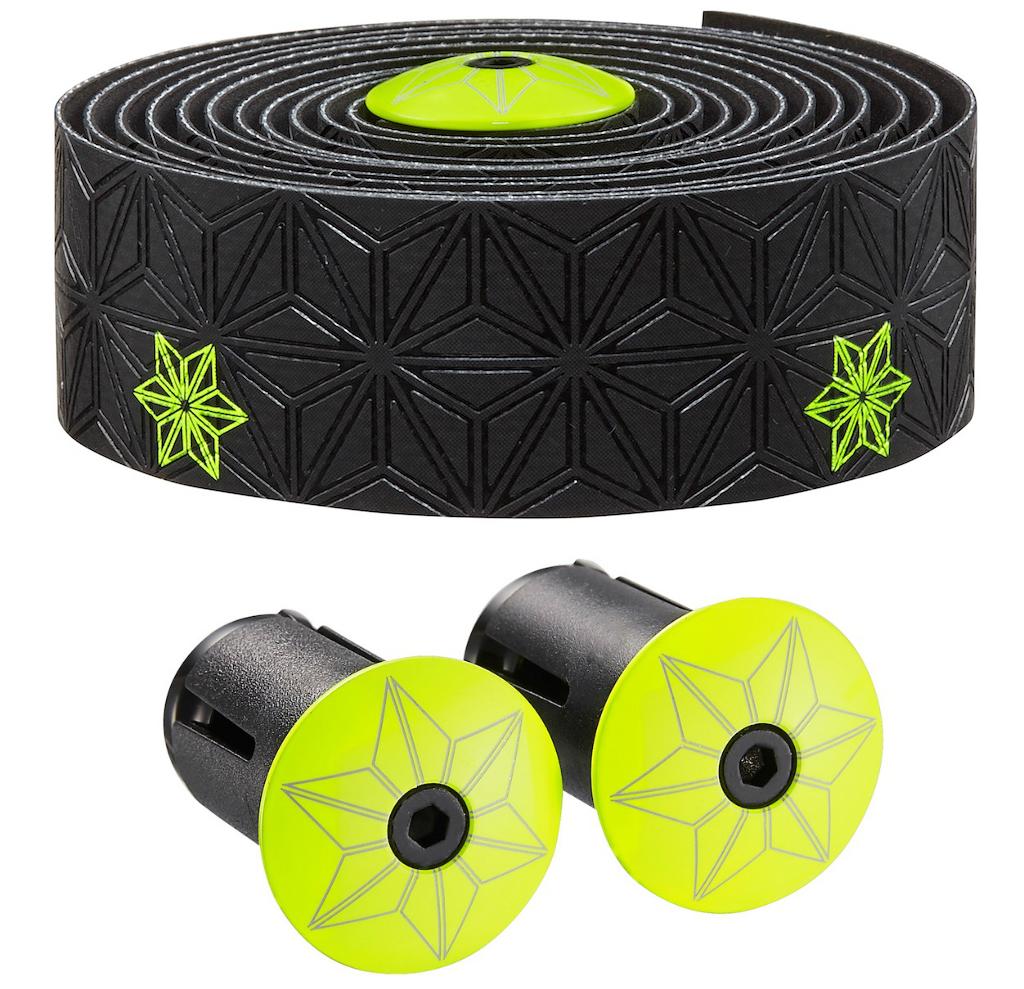 Supacaz Super Sticky Kush Neon Green Bar Tape