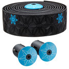 SUPACAZ Super Sticky Kush Galaxy Print Bar Tape  Black/Neon Blue  click to zoom image