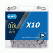 KMC X10 Grey 10 Speed Chain