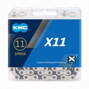 KMC X11 Silver/Black 11 Speed Chain
