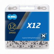 KMC X12 Silver/Black 12 Speed Chain