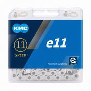 KMC e11 eBike Series Silver 11 Speed Chain