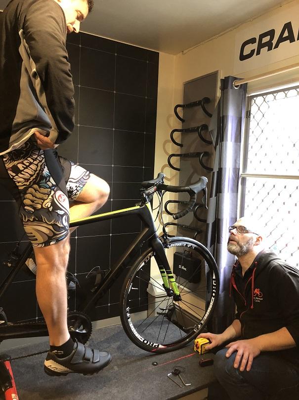 fcad9fe6a Precision Fit Bike Fitting    Ken Ellerker Cycles